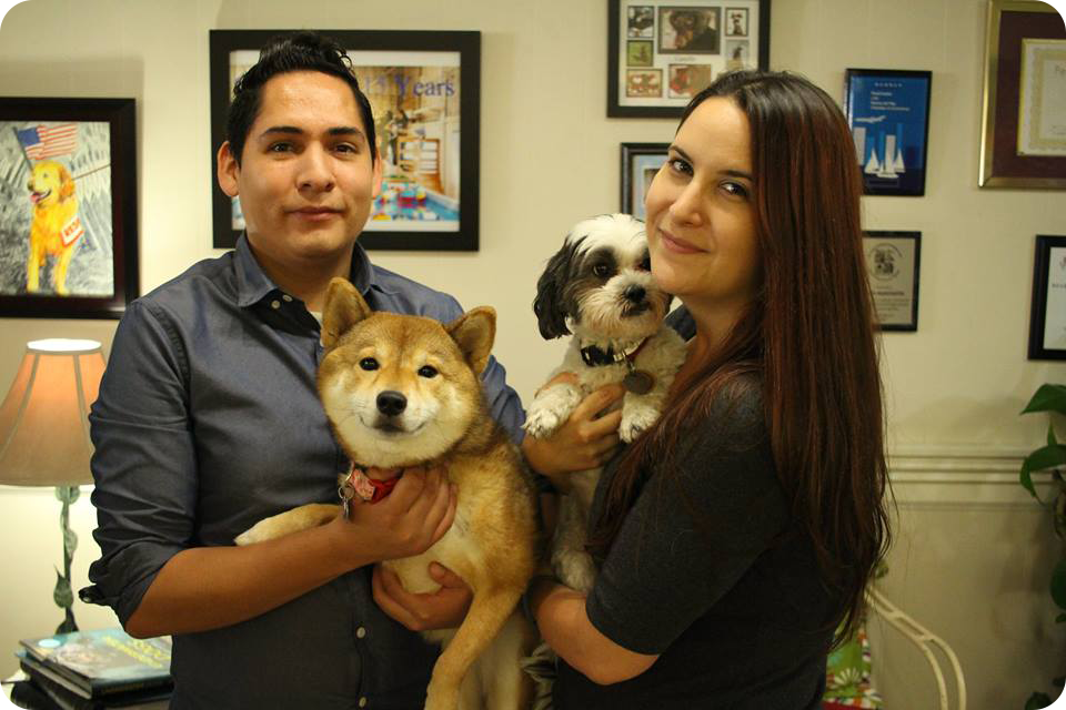 Holly & Rigo owners of Doggie Central